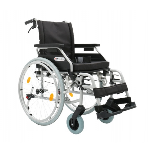 Wózek inwalidzki aluminiowy DYNAMIC...