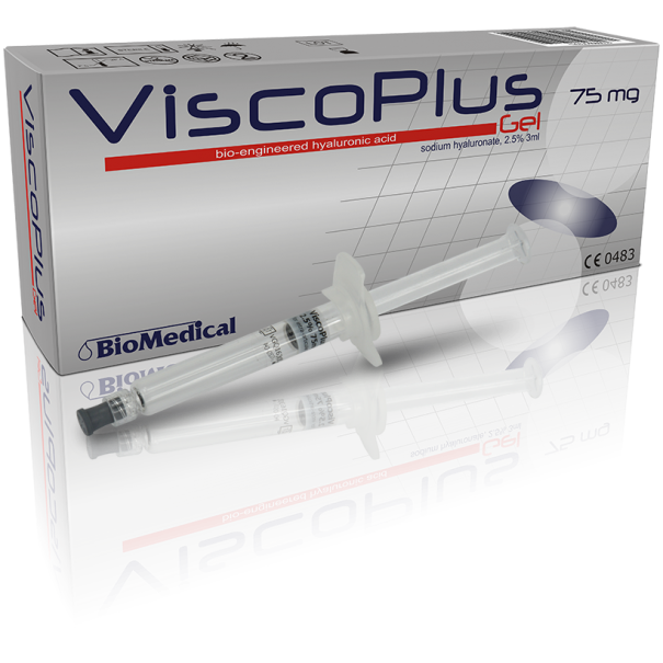 ViscoPlus® Gel 2,5%, 3 ml  6-12 miesięcy